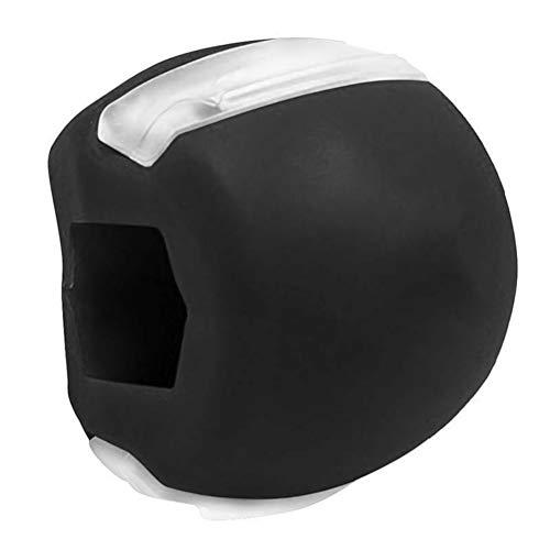 OTentW Ejercitador de mandíbula, Bola de Fitness Facial Ejercitador de tonificador Facial Ejercicio Antiarrugas Tonificador Facial Ejercitador de mandíbula Entrenador de músculos faciales de Cuello