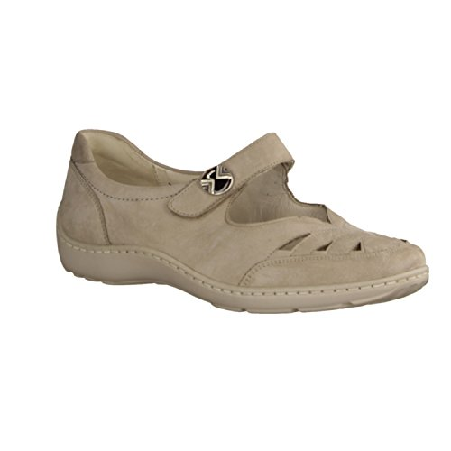Waldläufer Waldläufer Damen Slipper Henni -H- 496309.191.094 beige 23361