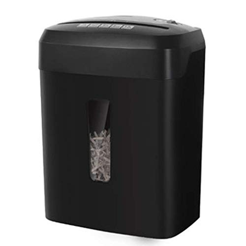 SCDFDJ Hacker Shredder, 13L Small Office Mini Haushalts Pellets Elektroklein Papier File Shredder Super Cross-Cut, 1-2 Benutzer, Stapel-und-Shred