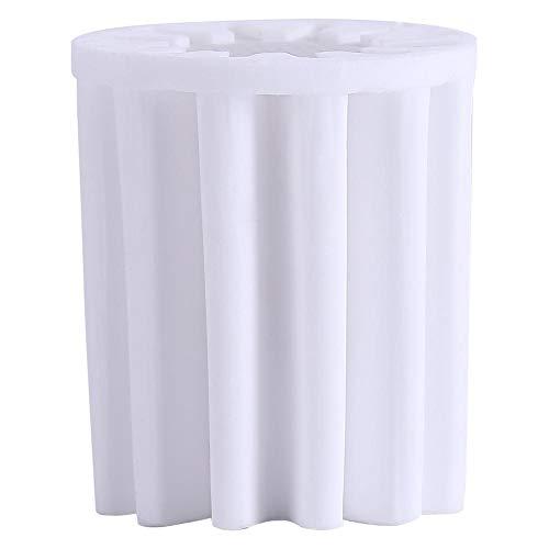 DEWIN douchekop-waterfilterkern - vervanging-waterfilterkern voor de inline waterontharder-luchtreiniger voor douchekoppen in de badkamer