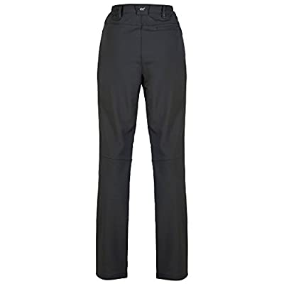 Regatta Women's Fenton Water Repellent and Wind Resistant Softshell Long Leg Trousers