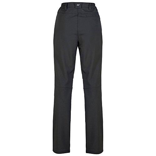 Regatta Damen Fenton Wasserabweisend und Windabweisend Softshell Kurze Bein Hose 20 Schwarz
