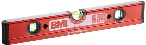BMI 698040 Wasserwaage Robust, Länge 40 cm, pulverbeschichtet