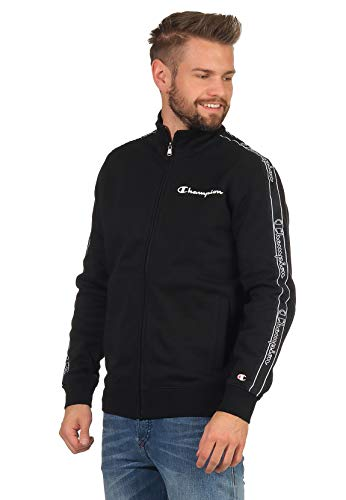 Champion Herren Full Zip Sweatshirt 215131 schwarz-XXL