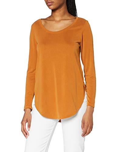 ESPRIT Damen 090EE1K342 T-Shirt, 220/RUST Brown, L