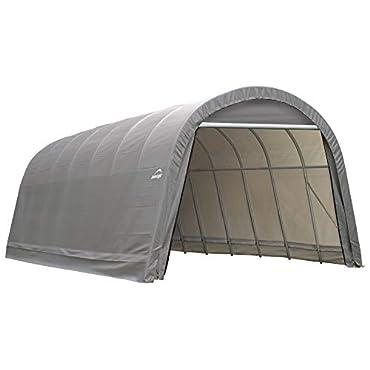 ShelterLogic Garage 95360 15 x 24 x 12  Round Standard Grey