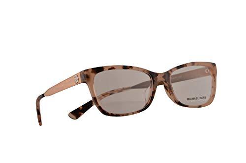 Michael Kors MK 4050F Marseilles Eyeglasses 53-17-14 Pink Tortoise w/Demo Clear Lens 3162 MK4050F