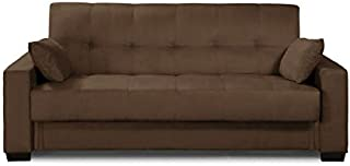 small sleeper sofa with storage