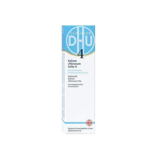 DHU Schüßler-Salz Nr. 4 Kalium chloratum D 4 Salbe N, 50 g Salbe