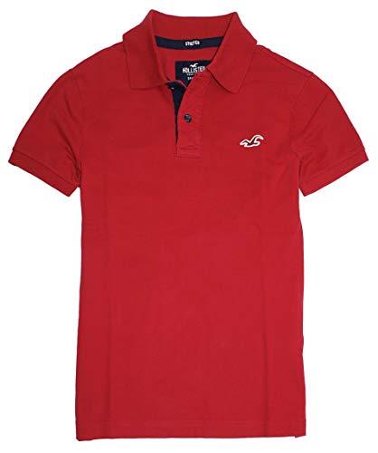 Hollister Men's Flex Pique Stretch Polo Shirt HOM-3 (Medium, 0761-500)