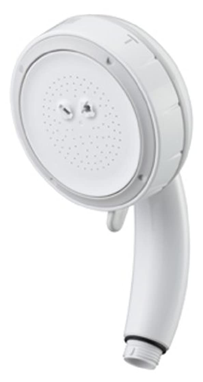 プラカード遠征簡単なSANEI シャワーヘッド 節水 エステシャワープロ ボディ ホワイト PS3061-80XA-MW2