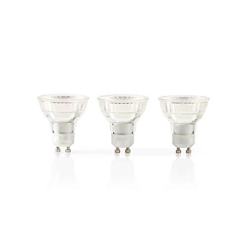 TronicXL 3 Stück LED Lampe GU10 Fassung Par 16 4,6 W 345 lm 3er Pack Warmweiss