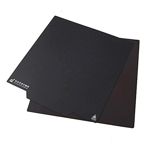 HzdaDeve Flexible Abnehmbare magnetische 3D-Drucker-Aufbaufläche 235 x 235 mm Aufkleber Beheizte Bettdecke mit Griff für Creality Ender 3 Ender 3 pro Ender 5