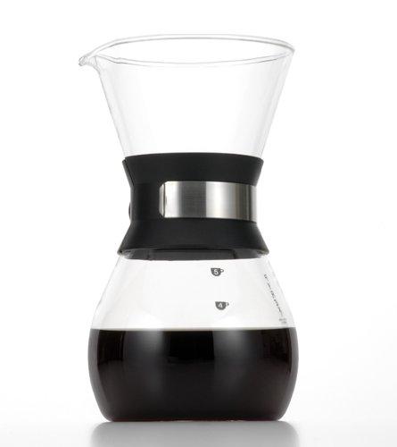 iwaki 耐熱ガラス コーヒーポット ビカ 600ml K8694-SV