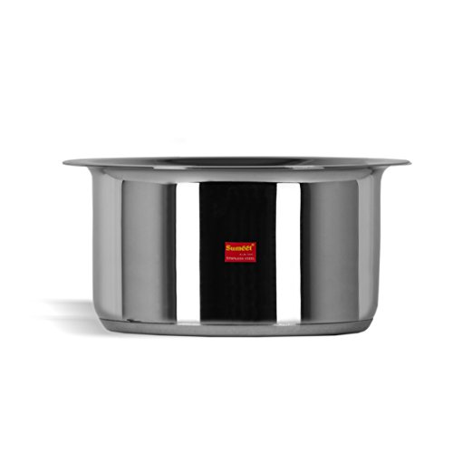 Sumeet Stainless Steel Induction Bottom (Encapsulated Bottom) Induction & Gas Stove Friendly...