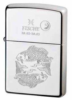 Zippo briquet zodiac collection poisson