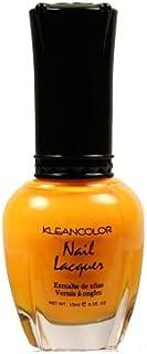(3 Pack) KLEANCOLOR Nail Lacquer 4 - Mango Burst (並行輸入品)