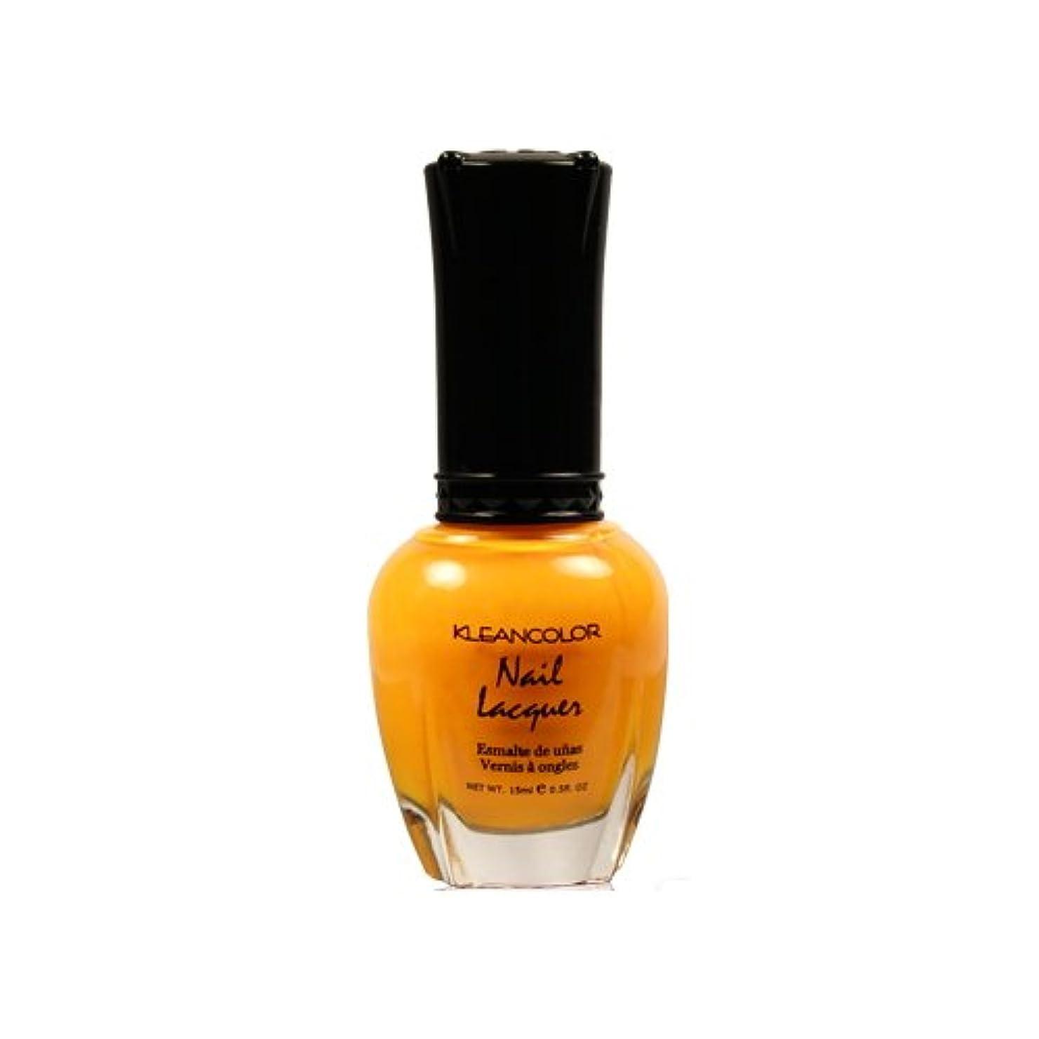 櫛傾向があります放射する(6 Pack) KLEANCOLOR Nail Lacquer 4 - Mango Burst (並行輸入品)