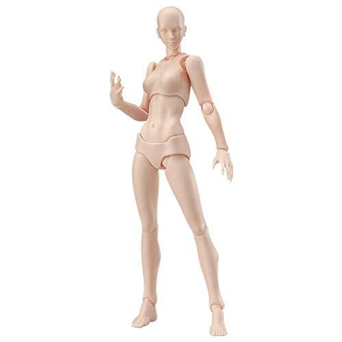 1 juego de figuras de dibujo para artistas, modelo de figura de acción, maniquí humano, hombre, mujer, artistas