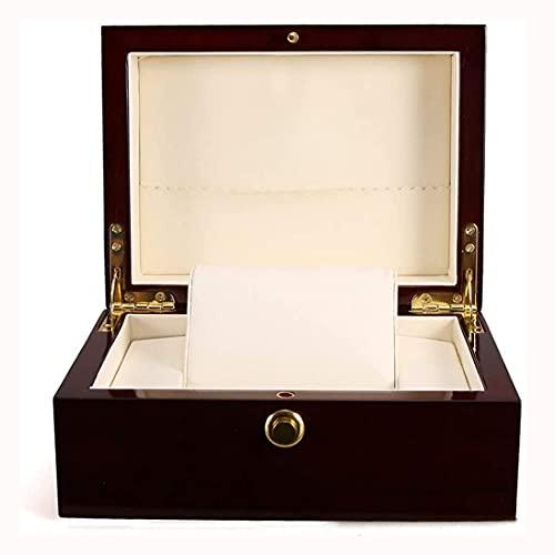 SMOOTHLY Caja de navegación, Caja de Almacenamiento de Caja, Caja de Almacenamiento de PU, Caja de Regalo para almacenar Pulseras de joyería, para Relojes con Pulseras de cuadrícula