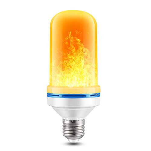 Preisvergleich Produktbild Flamme Glühbirne,  4W E27 Base Flammen Lampe,  4 Beleuchtungsmodi dekorative Atmosphäre Lampen für Halloween,  Weihnachten,  Haus,  Restaurants,  Bar Party und so weiter (1 PCS)