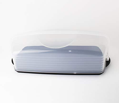 Tupperware® Königskuchen-Behälter für Kastenkuchen Stollen Biskuitrollen