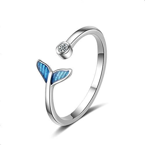 Anillo de dedo de mano antiguo para mujer, joyería de niña, anillos de uñas abiertos, anillo retro punk, bisutería, tamaño variable, 5
