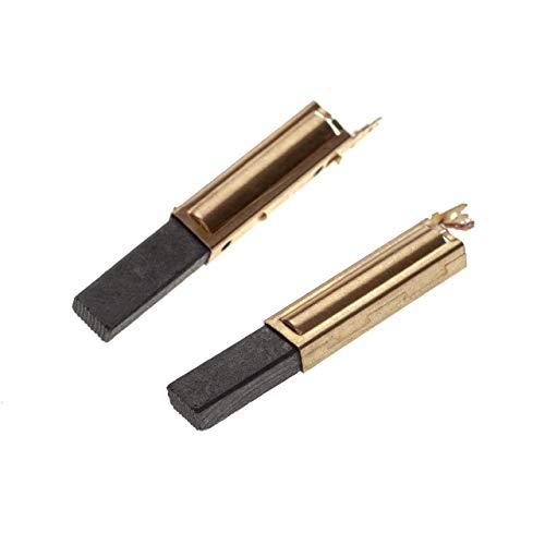 vhbw 2x escobilla de carbono 6,3 x 11 x 28mm compatible con Festo/Festool CT 11 E, 22 E, 33 E, 33 LE, 44 E, 55 E aspiradora