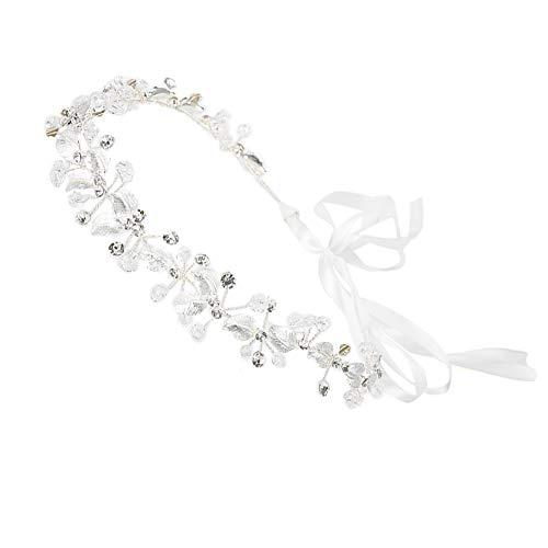 Diadema de corona, diadema Hermosa, elegante y encantadora Forma de flor Accesorio para el cabello Accesorio para el cabello Te hace más atractivo para el compromiso de la fiesta, Weddin