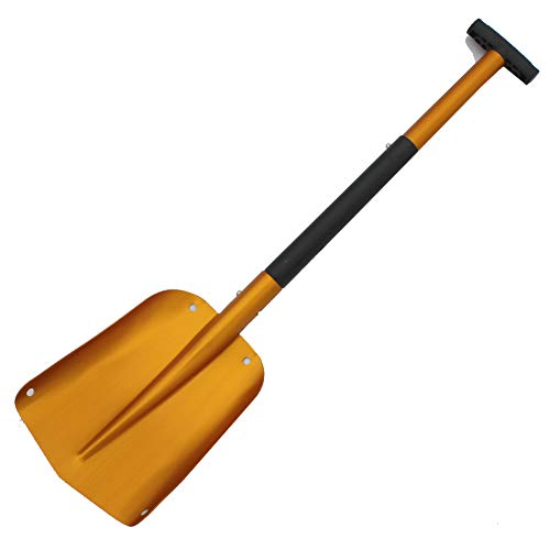 Buy Bargain Kyuccfrs Snow Shovel, Collapsible Outdoor Emergency Ice Scraper Aluminum Snow Remover To...