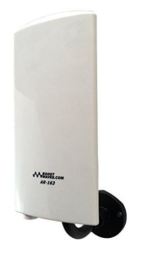 Boostwaves Amplified Digital Outdoor Indoor HDTV Antenna AR-163 UHF/VHF Far Range OTA Reception
