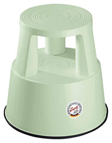 Wedo Rollhocker STEP 21226019, weißgrün, Limited Edition, aus Kunststoff, TÜV und GS geprüft