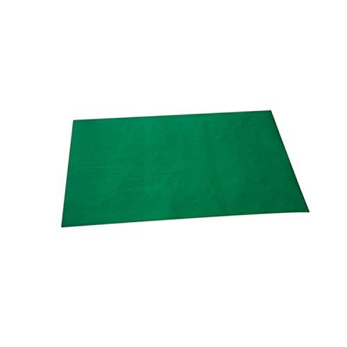 Morigami Mantel Individual, 35 x 50 Cm, Gofrado, 44 Gramos, Verde, Set de1000 unidades