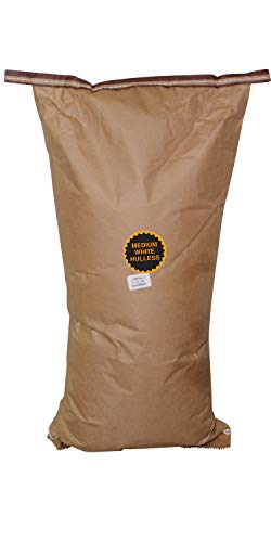 Affordable Amish Country Popcorn | 50 LB Medium White Kernels | Old Fashioned with Recipe Guide (50l...
