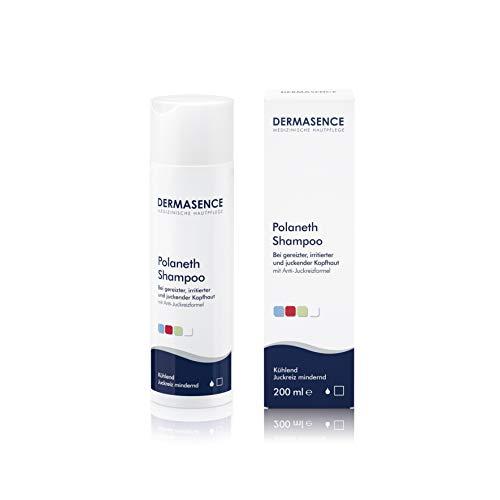 DERMASENCE Polaneth Shampoo - Bei sensibler Kopfhaut mit einem hohen Schmerzempfinden, Kribbeln und Wärmegefühl, 200 ml