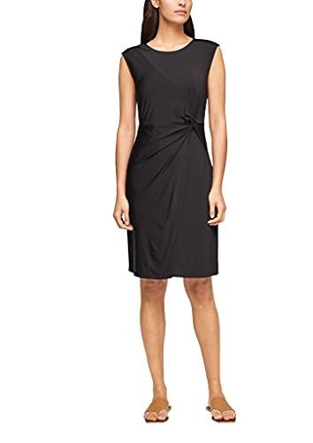 s.Oliver BLACK LABEL Damen Kleid aus Viskosestretch black 42