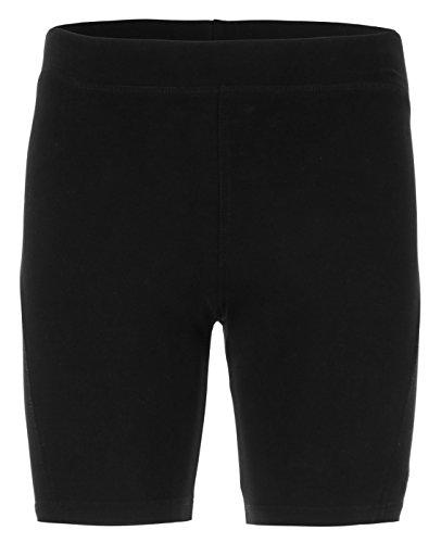 Kamah - Yoga-Shorts für Herren in Black, Größe S