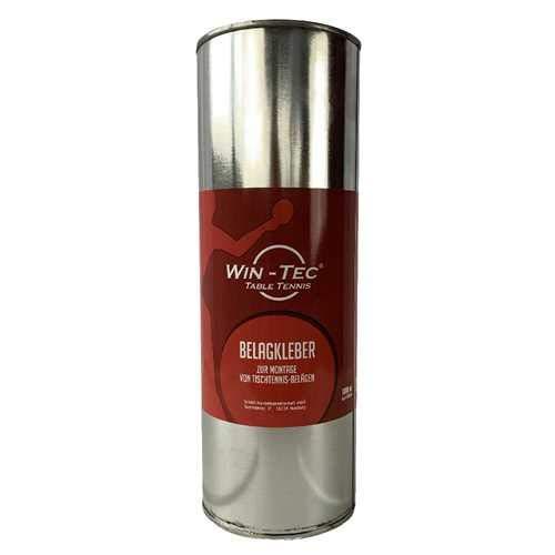 WIN-TEC Tischtennis Belagkleber Nachfüllflasche (1000ml) - Kleber für Tischtennis Beläge | Lösungsmittelhaltig | TT-Spezial - Schütt Tischtennis