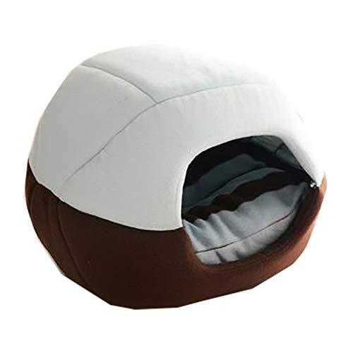 wyj Arena para gatos, perros pequeños y mascotas, mantiene el calor en invierno, se puede utilizar en cualquier época del año.