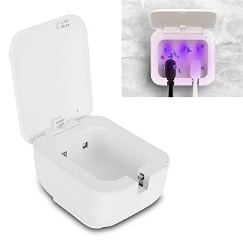 Cepillo de dientes esterilizador, Tipo-C inteligente portátil para el hogar UVC-LED Cepillo de dientes Esterilizador Limpiador Luz ultravioleta Viaje Cepillo de dientes Esterilizador para baño.
