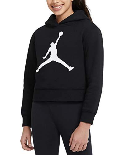 Jordan Sudadera de niña con capucha Jumpman Core Negro - 45A442-023 Negro L