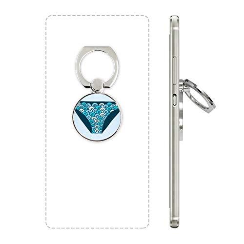 DIYthinker Blau Badehose Illustration Muster-Handy-Ring Ständer Halter Halterung Universal-Smartphones Unterstützung Geschenk