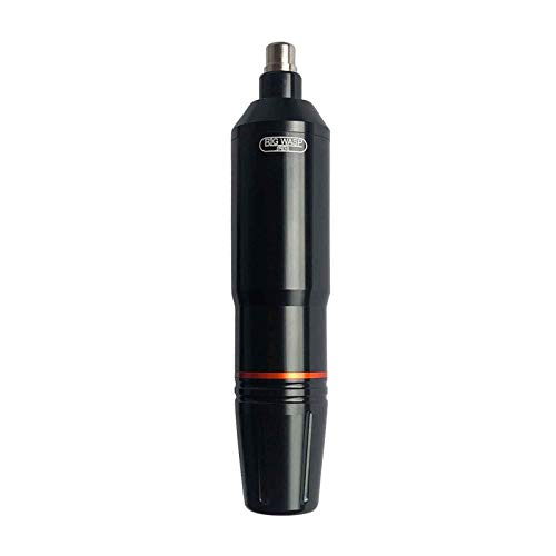BIGWASP Cartridge Pen Rotary Tattoo Machine Japan Motor for Artists (Black)