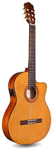 Cordoba C5CET Elektroakustische Gitarre aus Zedernholz, Braun