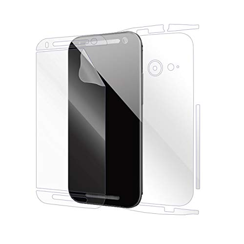 Snooky Full Body Front and Back Full 360 Protection TPU Soft Film Screen Guard for HTC One Mini 2