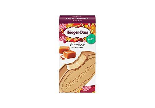 ハーゲンダッツ アイスクリーム クリスピーサンド ザ・キャラメル 60ml×6個×3箱