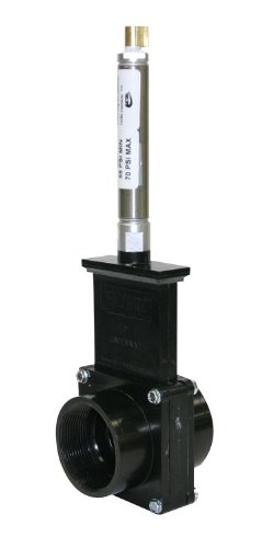 Valterra 9207 ABS Gate Valve, Noir, 5,1 cm FPT, métal Air Cylindre
