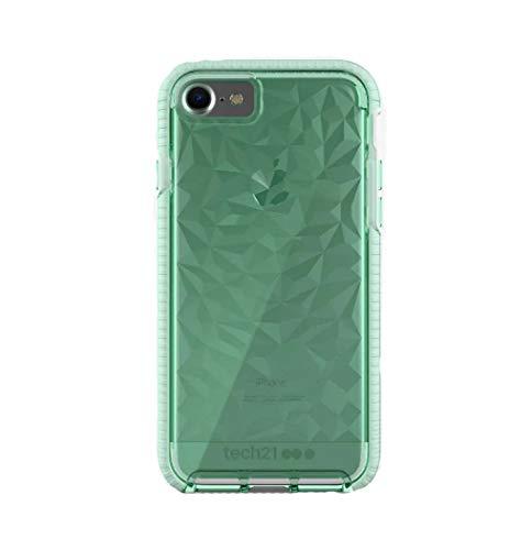 Tech21 Evo Gem - Carcasa protectora para iPhone 8, iPhone 7 y iPhone 6, color verde