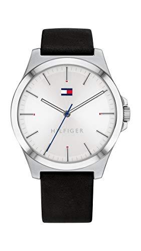Tommy Hilfiger Reloj para de Cuarzo con Correa en Cuero 1791716