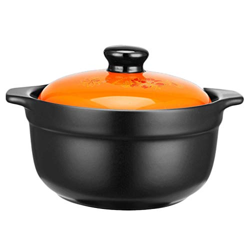HSJ WYQ- Cocina de cerámica de la cazuela, cazuela de la Sopa del Gas del hogar cazuela La Comida es Deliciosa